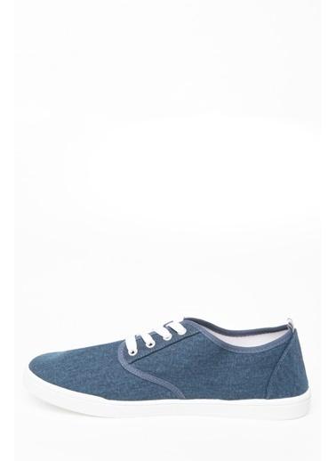 DeFacto Bağcıklı Sneaker Mavi